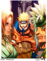 naruto and 3 sanins by thisizcool