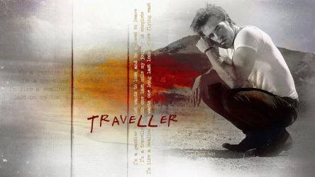 Chris Pine - Traveller - Version 3 by ireneglory