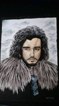 John Snow by KingDavid-dO