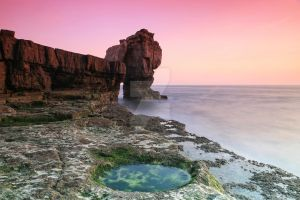 The Rock Pool by JulianWells