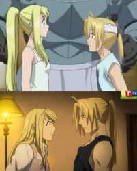 Ed Elric: The Comparison by Evilddragonqueen