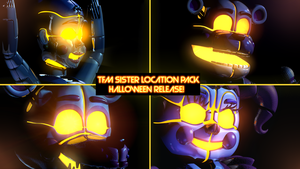 TFM 3 Funtimes Pack Release - [FNaFSL Blender] by ChuizaProductions