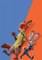 Judy and Nick Textless Poster by foxylvr2189