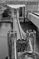 Conwy Castle - Bridge by UdoChristmann