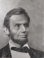 Abraham Lincoln by graphitemyers