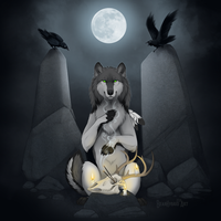 Ritual at the standing stones by Bear-hybrid