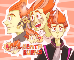Heath Burns by HASUHARA