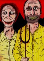 Resident Evil 7 The Bakers by charcoalman