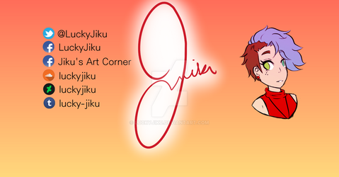 Twitch and YouTube Banner (LuckyJiku) by LuckyJiku