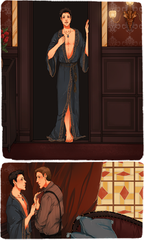 DC Titanic!AU: Like One of Your French Girls 1/2 by nella-fantasiaa