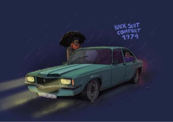 BACK SEAT COMFORT 1974 by DUST2196
