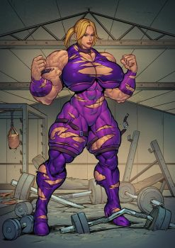 Nina Williams' Workout by too22202