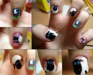 Sheep nails by ItsMyUsername
