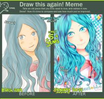 Meme before-after 2009-2014 by NamiYami