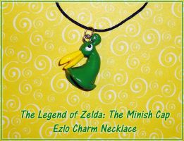 Zelda - Minish Cap - Ezlo Charm Necklace by YellerCrakka