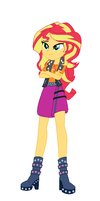 Sunset Shimmer Equestria Girls new style by Ketrin29