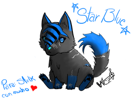 [Gift] Puppy StarBlue by NoreliaCZ