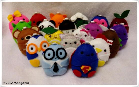 My SweetTwinz Baby Eggy Collections by SongAhIn