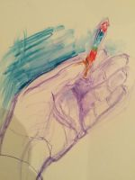 Hand sketch by hundredsand
