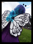 (Pokemon) Butterfree Looking Out Cosplay by KrazyKari