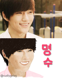INFINITE | Kim Myungsoo Art v1.0 by cudlygirl03