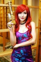 Secret Agent Miss Fortune AN Halloween 2015 #02 by Lightning--Baron