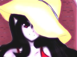 Adventure Time-Marceline the Vampire queen by Invader-celes