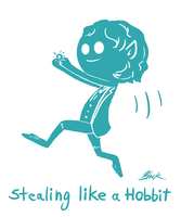 Stealing like a Hobbit by caycowa