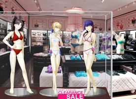 Fate Stay Mannequins - Clearance Sale by adi1625