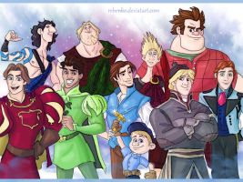 Disney boys by rebenke