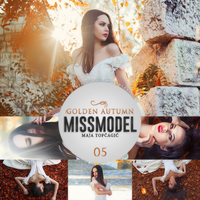 missmodel 05 - Golden Autumn by MisSGuaRD