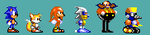 Sonic 2 (8-bit) - Knuckles the Echidna by Team-Lava