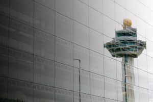 Airport Tower by mengshuen