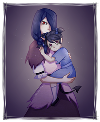 Big Sister and Little Sister (REQUEST) by PersianFlaw