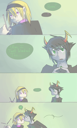 Kanaya And Rose by Shydrake