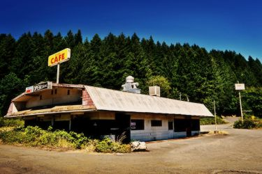 (1956) Curtin Cafe aka Midway Truck Stop by humloch
