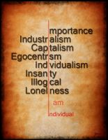 Individualism by tokarnia