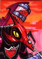 Mosquitor Sketch Card by Barnlord