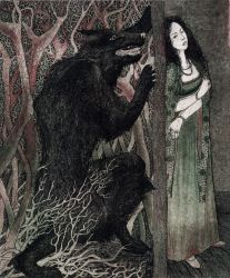 Beauty and The Beast. Illustration 3. by STorA