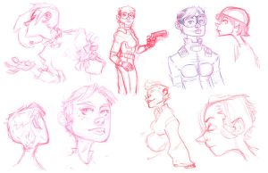 comic concepts by robinmitchell