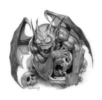 Evil Goblin Demon by namesjames