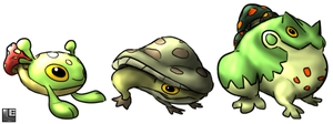 Toadstool Toads by LE-the-Creator