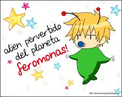 Usui alien pervertido by akumaLoveSongs