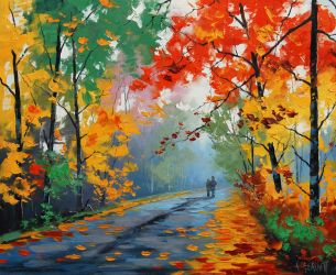 AUTUMN colors by artsaus
