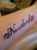 New Tattoo-Neverland by Wolfblood11