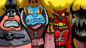 Gwar Viking Death Machine by Makinita