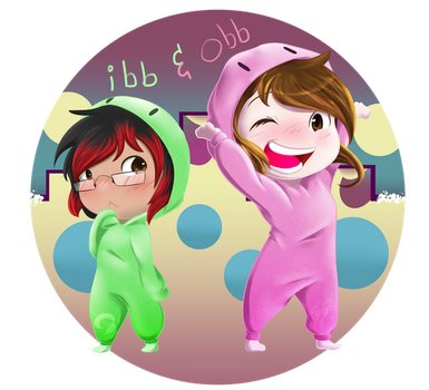 Ibb and Obb by KitsuGuardian