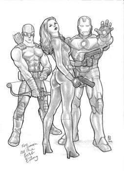 Avengers commsission by huy-truong