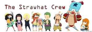 The Strawhat Crew by Winter-Wisp