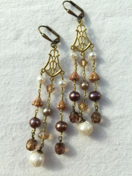 Chandelier Earrings by ElegantlyEccentric